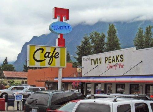 Twin Peaks diner