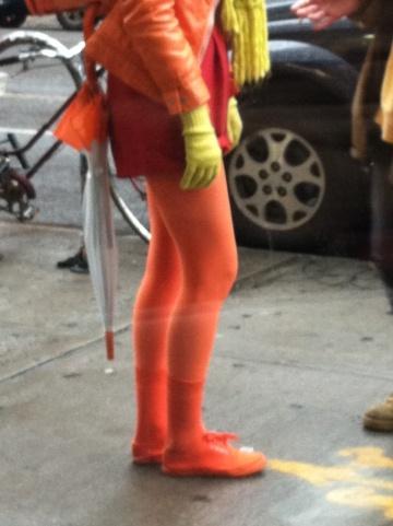 street style orange
