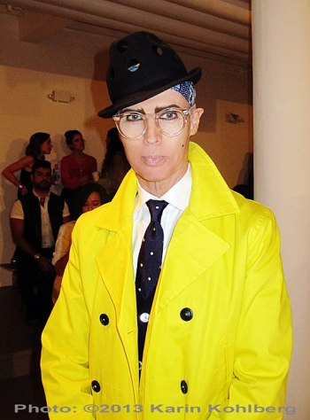 NY Fashion Week yellow